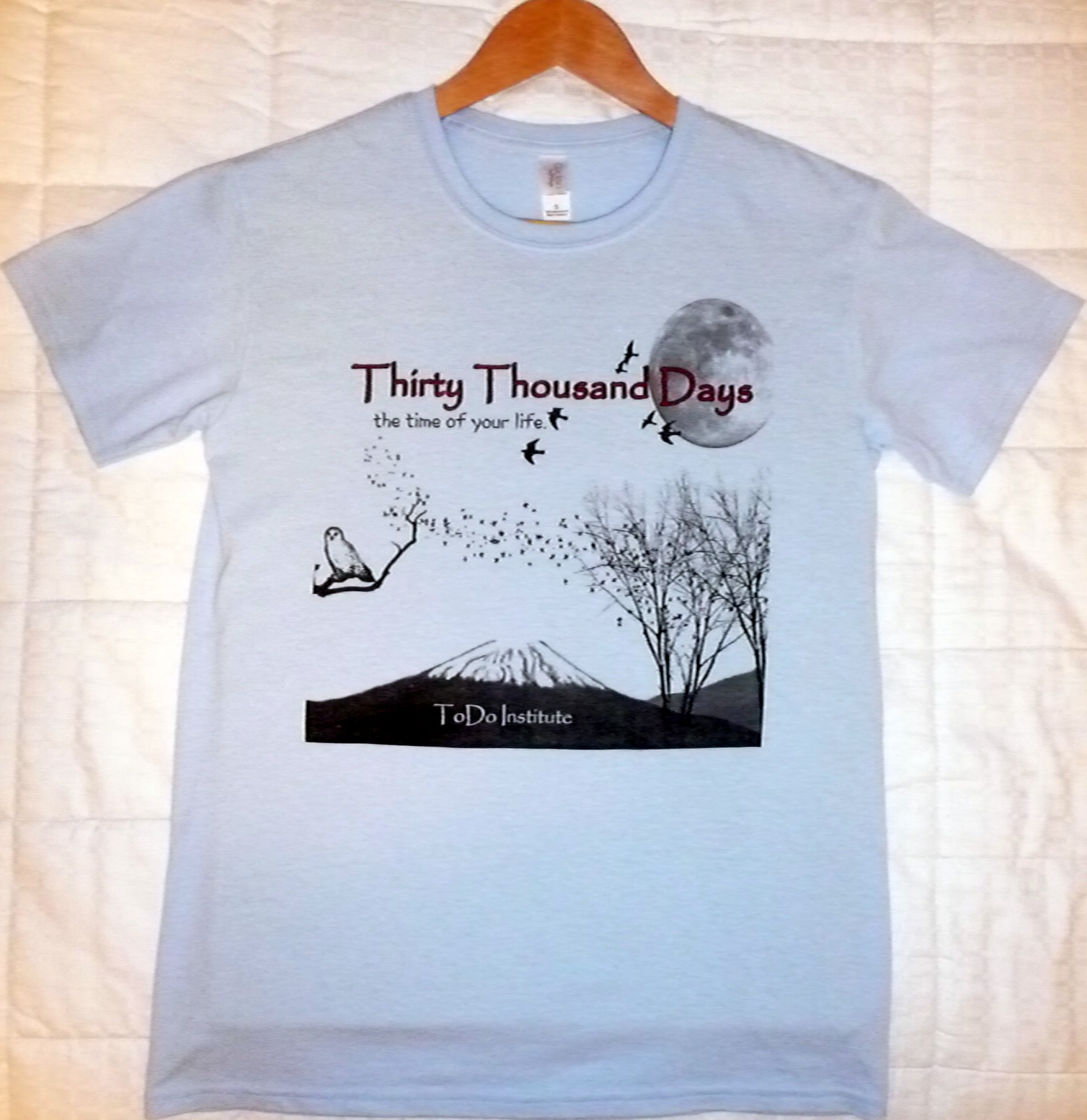Thirty Thousand Days Soft Cotton T-Shirt - Regularly $12 - Click Image to Close